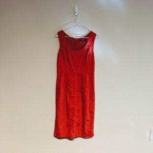 Club Monaco red dress size 2